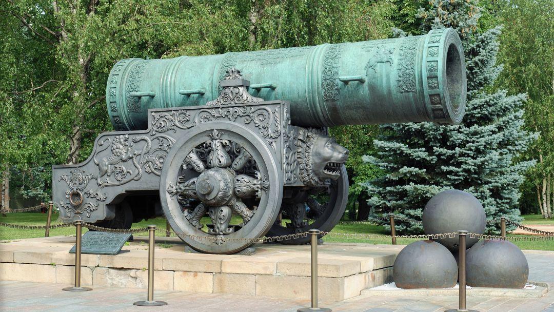 Царь-пушка по Москве