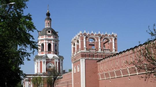 Донской монастырь по Москве