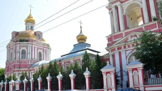 Храм Никиты Мученика на Старой Басманной по Москве