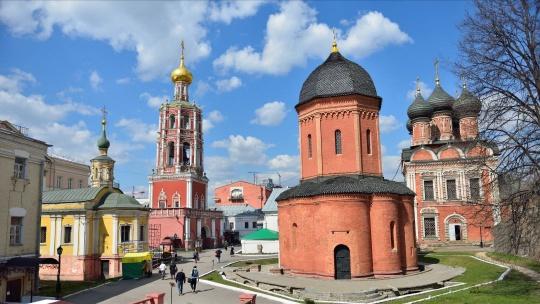 Высоко-Петровский монастырь по Москве