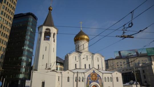 Храм Николы Чудотворца у Тверской заставы по Москве