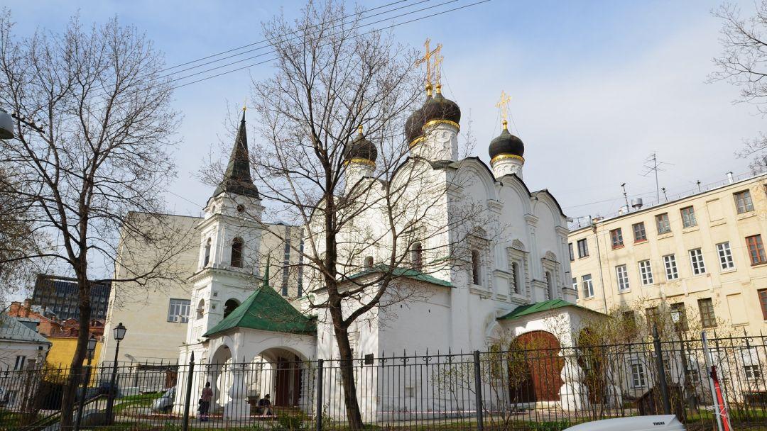 Церковь Святого Владимира в Старых Садех по Москве