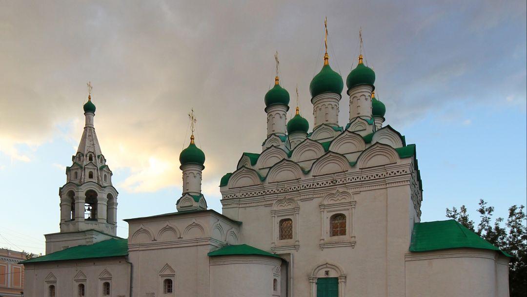 Церковь Симеона Столпника на Поварской по Москве
