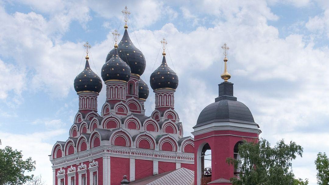 Храм Тихвинской иконы Божией Матери в Алексеевском по Москве