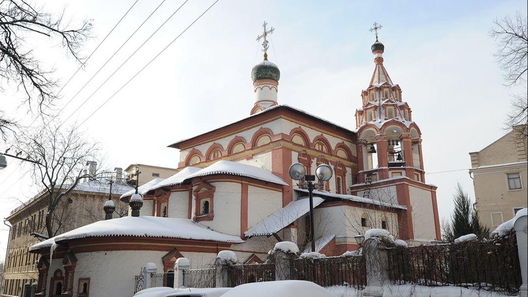 Храм Трёх Святителей на Кулишках по Москве