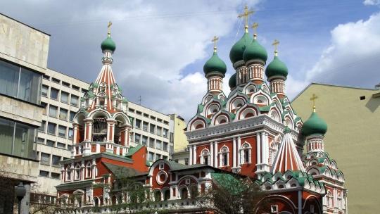 Церковь Троицы в Никитниках по Москве