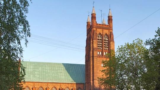 Англиканская церковь Святого Андрея (Москва) по Москве