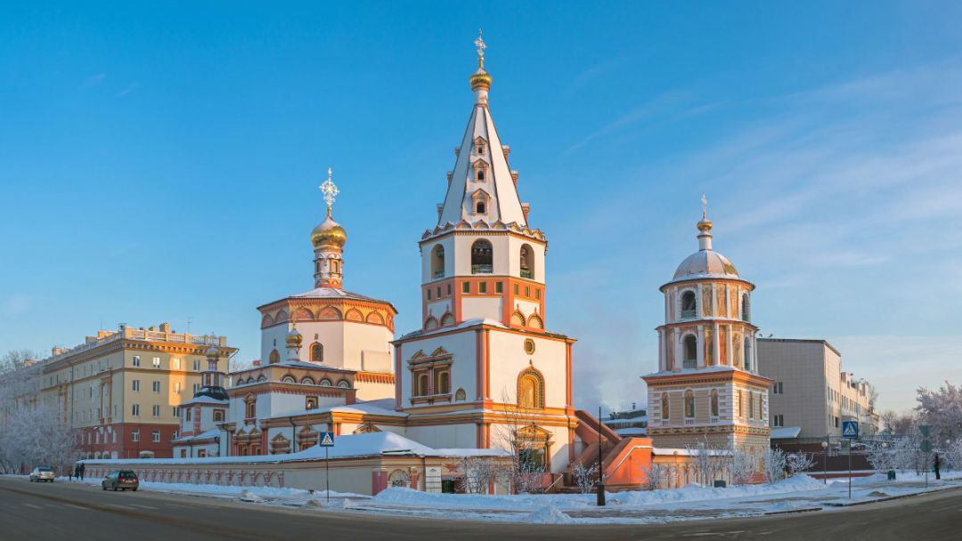 Собор Богоявления в Иркутске