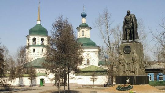 Знаменский монастырь в Иркутске