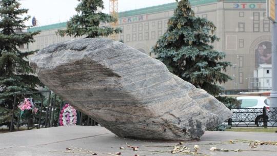Соловецкий камень по Москве