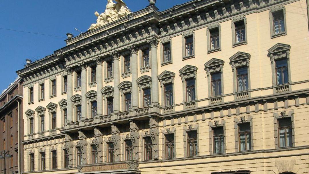 Здания страхового общества «Россия» по Москве
