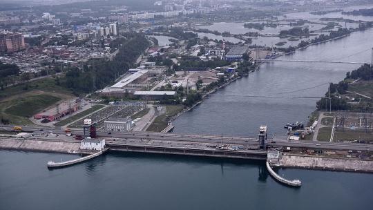 Иркутская ГЭС в Иркутске
