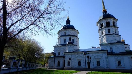 Троицкая церковь в Иркутске
