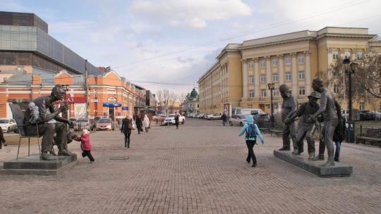 Площадь Труда в Санкт-Петербурге