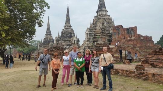 Экскурсия Аюттайя -древняя столица Сиама в Паттайе