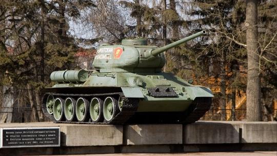 Танк Иркутский комсомолец в Иркутске