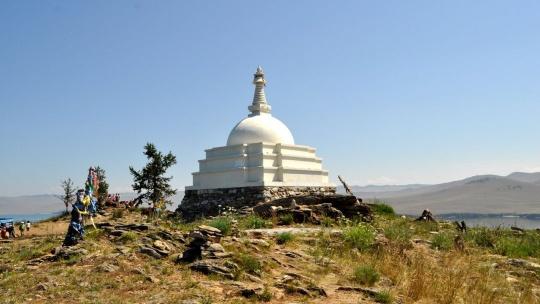 Буддийская ступа в Иркутске