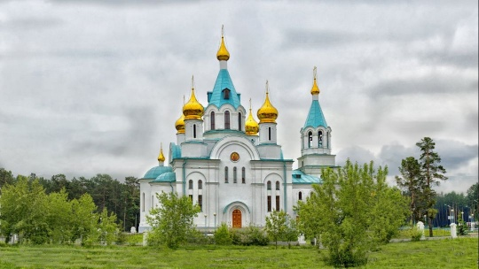Свято-Троицкий кафедральный собор в Иркутске