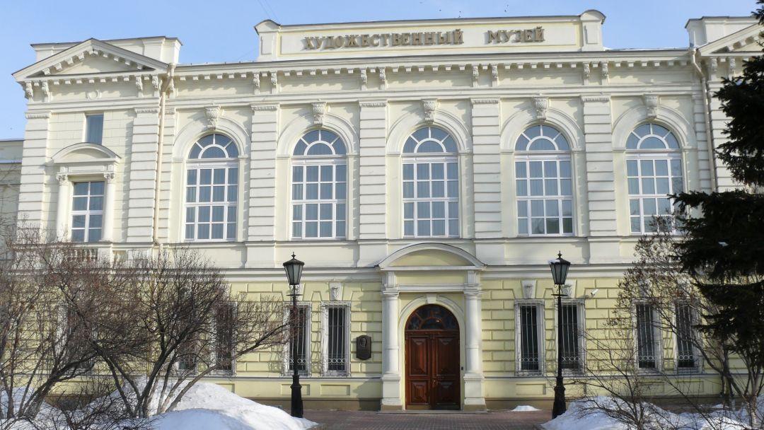 Иркутский областной художественный музей в Иркутске