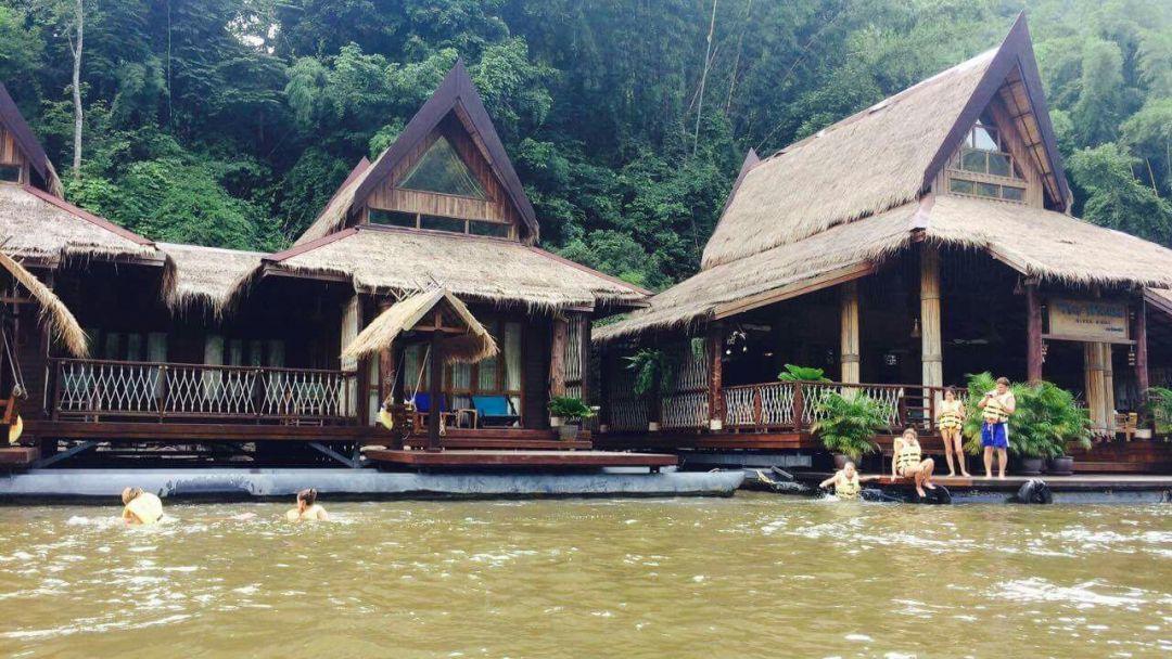 Рай на реке Квай с водопадом Эраван в Паттайе
