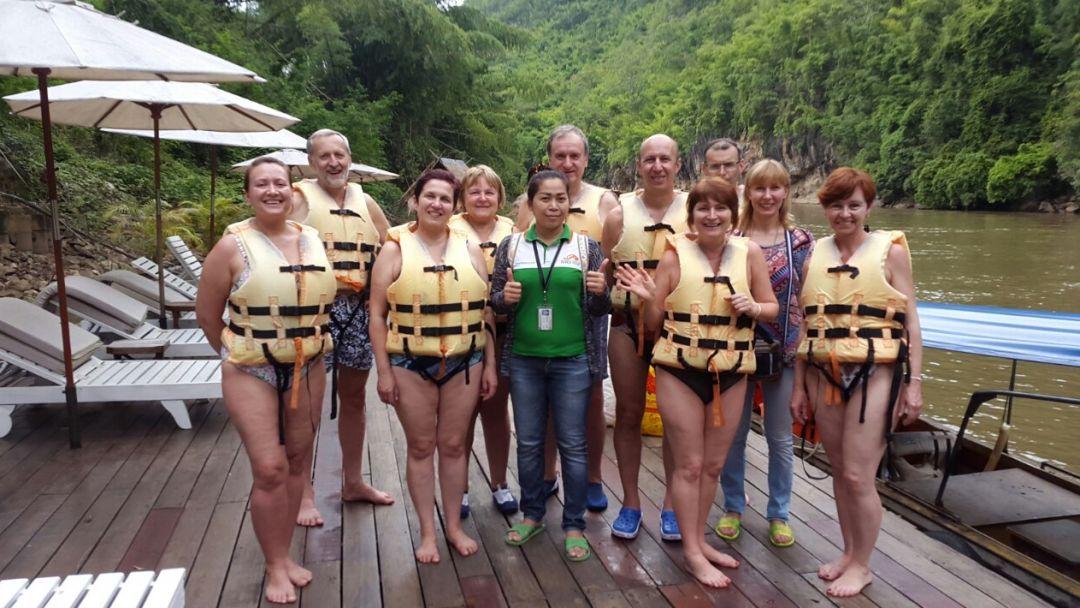 Рай на реке Квай с водопадом Эраван - фото 7
