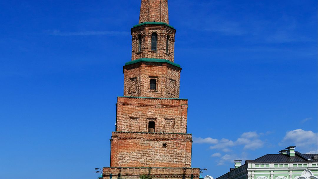 Башня Сююмбике по Казани
