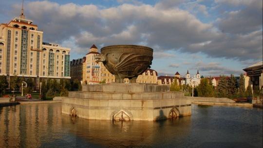 Парк Тысячелетия по Казани