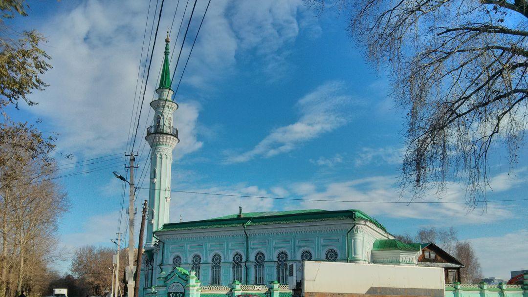 Азимовская мечеть по Казани