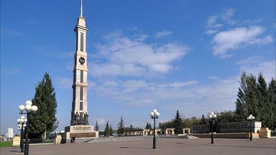 Парк Победы  по Казани