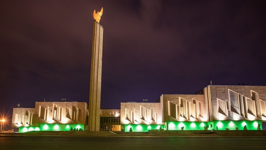 Площадь Султан-Галиева  по Казани