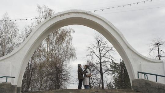 Арка влюблённых по Казани