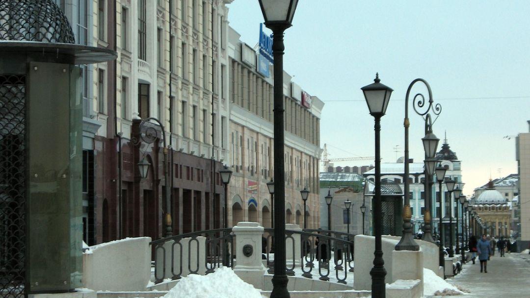 Петербургская улица по Казани