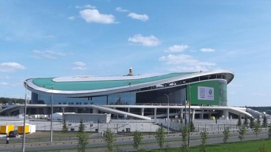 Казань Арена по Казани