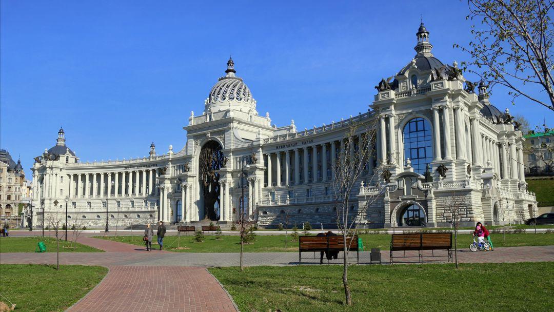 Дворец земледельцев по Казани