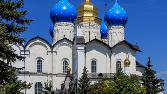 Благовещенский собор Казанского кремля по Казани