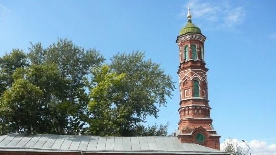Бурнаевская мечеть по Казани