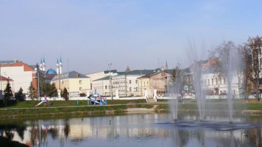 Чёрное озеро по Казани