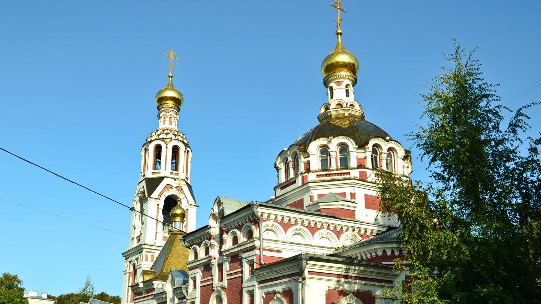 Церковь Святой Великомученицы Варвары по Казани