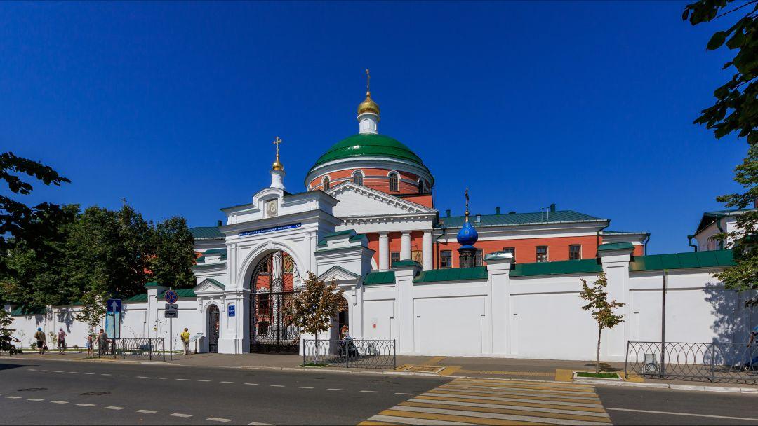 Казанский Богородицкий монастырь по Казани
