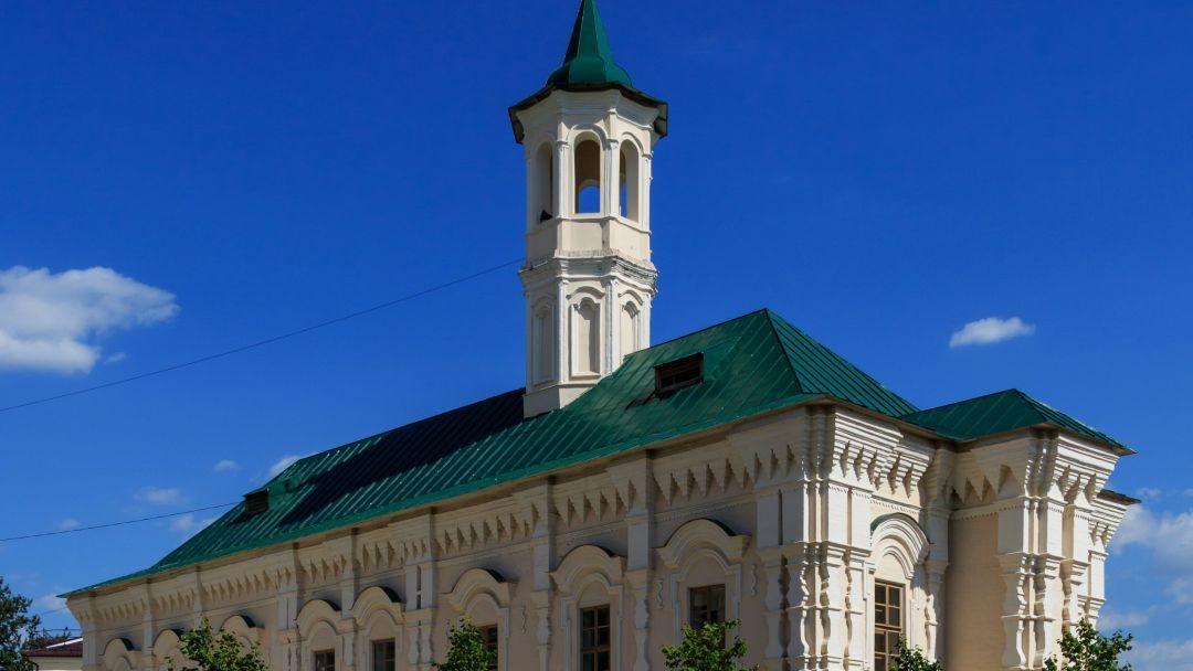 Апанаевская мечеть по Казани