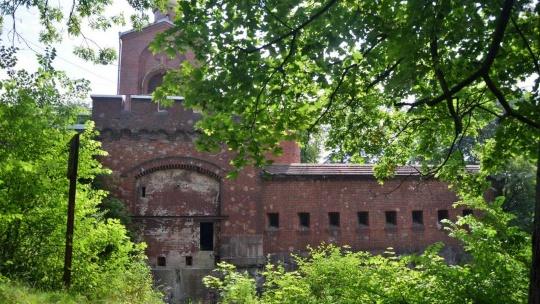 Аусфальские ворота по Калининграду