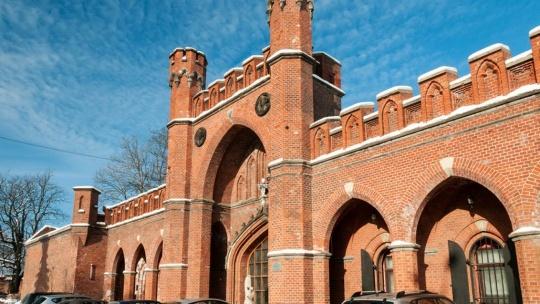 Росгартенские ворота по Калининграду