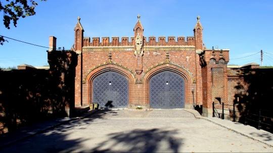 Фридландские ворота по Калининграду