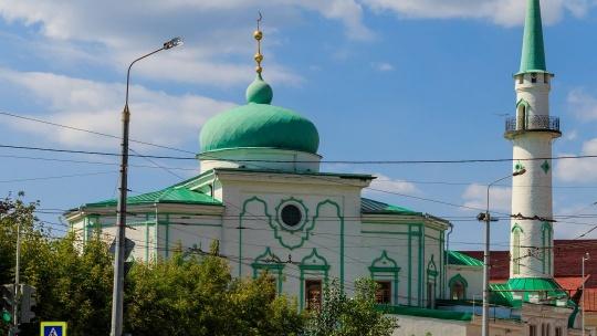 Мечеть Нурулла по Казани