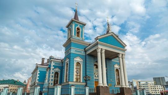 Храм Воздвижения Святого Креста по Казани