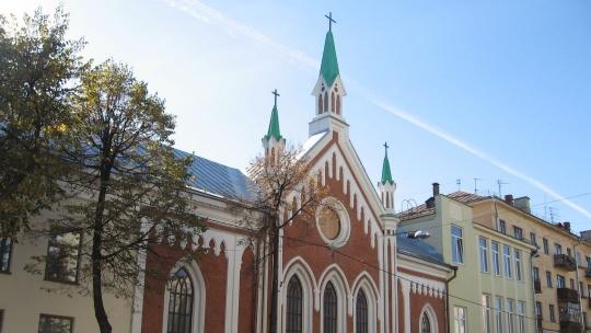 Церковь Святой Екатерины по Казани