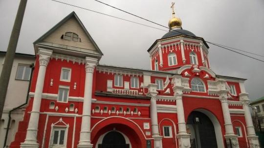 Кизический Введенский монастырь по Казани