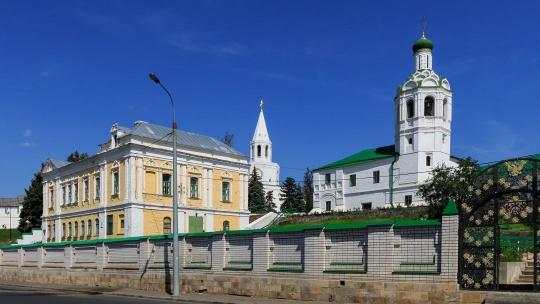 Казанский Иоанно-Предтеченский монастырь в Иркутске