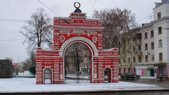 Юбилейная арка по Казани