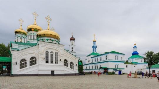 Раифский Богородицкий монастырь по Казани